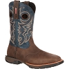 Rocky Mens LT Steel Toe Saddle Western Boot