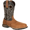 Rocky Mens LT Composite Toe Waterproof Saddle Western Boot