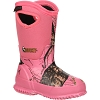 Rocky Kid Core Little Pink Camo Waterproof Insulated Rubber Boot