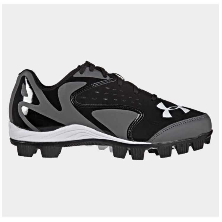Under Armor Leadoff Low RM JR - Black/Charcoal