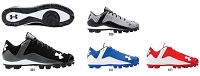 Under Armour Mens UA Leadoff Low RM Baseball Cleats