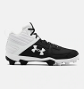 Under Armour Mens Leadoff Mid RM Baseball Cleats