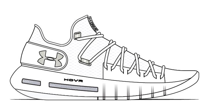 d90e005e031 Under Armour Mens Team HOVR Havoc Low Basketball Shoes 3021593