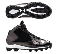 Under Armour Hammer Mid RM JR. Football Cleats