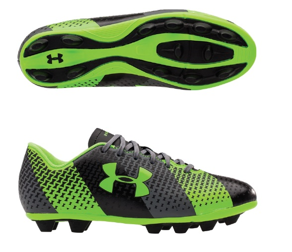 Under Armour CF Force HG Jr. Soccer Cleats