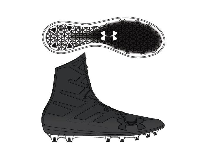 c2d10f7ff96 Add to My Lists. Under Armour Mens Highlight MC Football Cleats