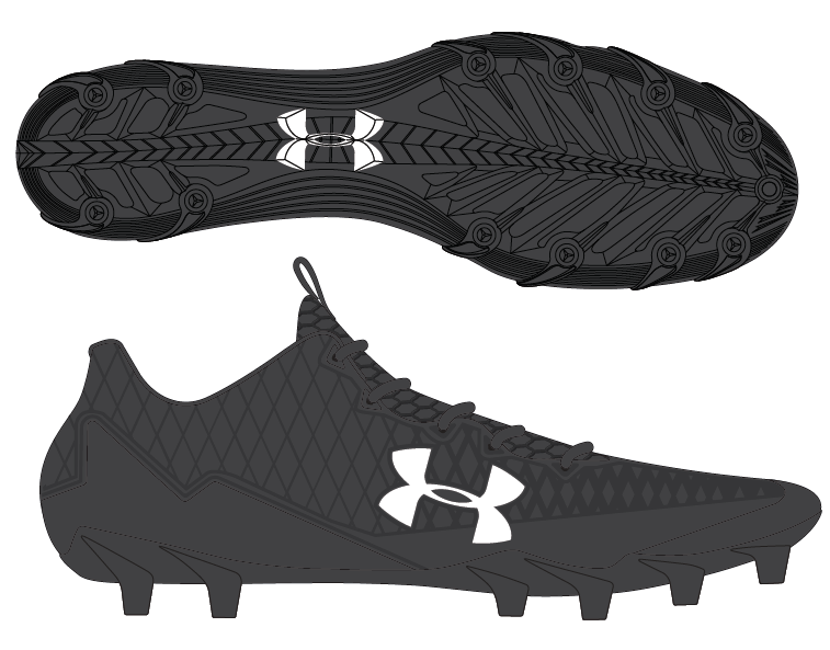 hot sales 3c688 4ee92 Add to My Lists. Under Armour Mens Nitro Select Low MC Football Cleats