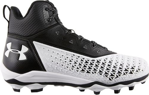 Under Armour Mens Hammer Mid MC Wide Football Cleats 3022837