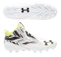 Under Armour Mens Ripshot Mid MC Cleats
