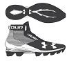 Under Armour Youth Hammer RM Football Cleats