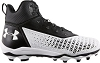 Under Armour Mens Hammer Mid MC Wide Football Cleats