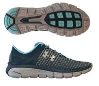 Under Armour Womens SpeedForm Fortis Night Running Shoes