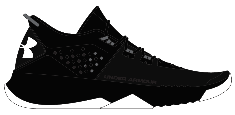 Under Armour Mens Bam Training Shoes