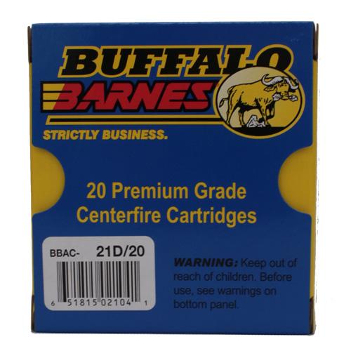 Buffalo Barnes Hvy 10mm 155gr Barnes Tac Xp 20