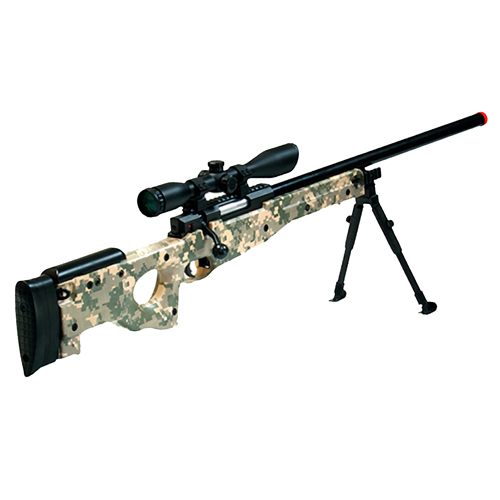 Leapers Inc. Airsoft Shadow Ops Sniper Rifle, ACU