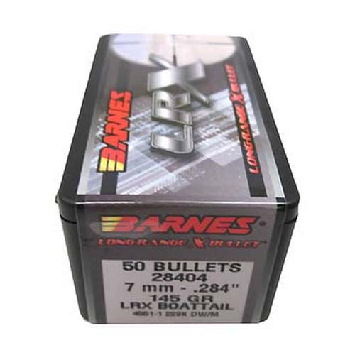 """Barnes Bullets 28404 7mm .284"""" 145gr LRX BT /50"""