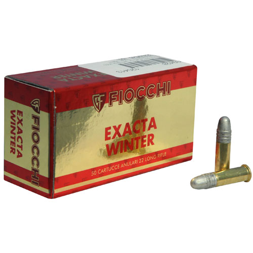Fiocchi Ammo 22LR 40gr Exacta Winter Super Match /50
