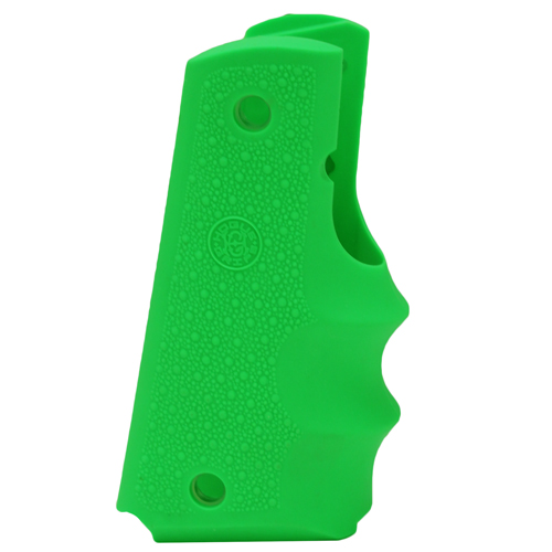 Hogue Govt. Model Rubbr Grip w/FG, Zombie Green
