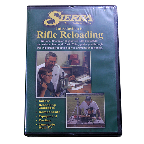 Sierra Bullets Beginning Rifle Reloading DVD