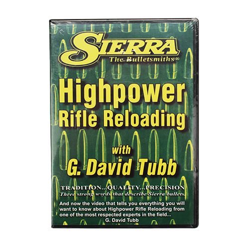 Sierra Bullets Advanced Rifle Reloading DVD