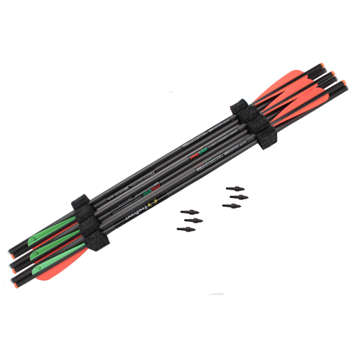 Tenpoint crossbow technologies 22 carbon pro v arrows 6 pk for Crossbow fishing bolts