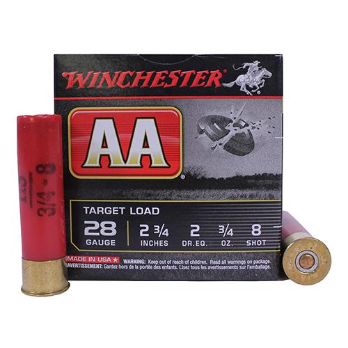 Winchester Ammo Aa Target Load 28ga 2 3 4 Quot 8 Shot