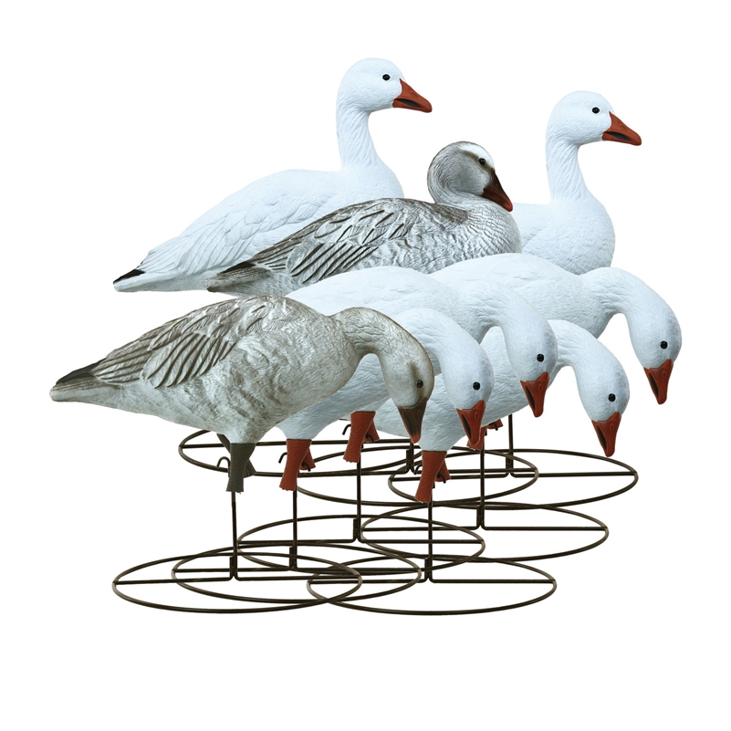 Higdon Decoys Full Size Full Body Variety Pack - Snow Juvenile