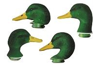 Dakota Decoy Mallard Flocked Replacement Heads