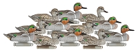 Dakota Decoy Xtreme Greenwing Teal Decoys