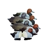 Higdon Decoys Battleship Red Head - Foam Filled