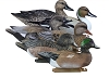 Higdon Decoys Battleship Puddle Pack - Foam Filled - 2 Pintails - 2 Gadwalls - 2 Widgeons