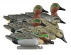 Higdon Decoys Standard Green Wing Teal - Foam Filled