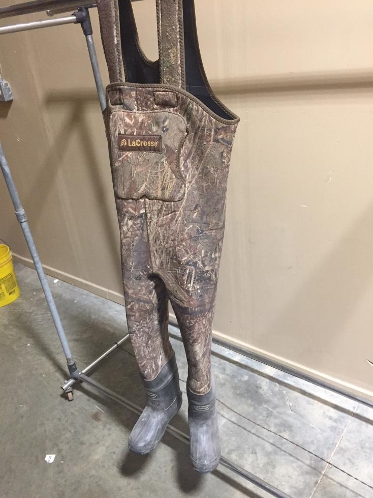 Lacrosse Youth Waders - USED - Duck Blind Camo - Size 5