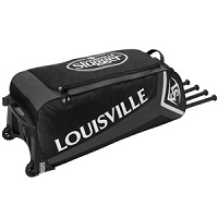 Louisville Slugger Ton Team Series 7 Wheeled Bag EBS7TN6-BK