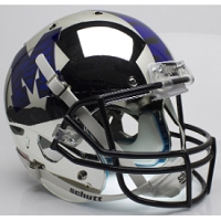 Schutt Memphis Tigers Replica Football Helmet Alternate 1