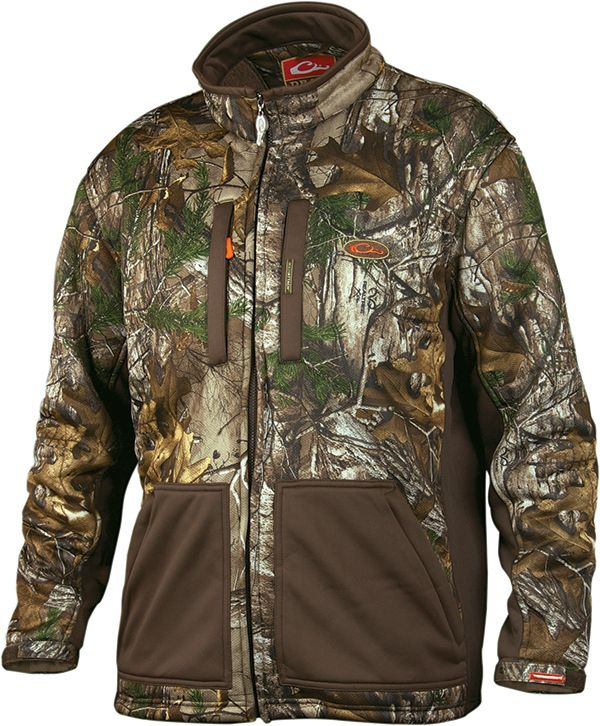 Drake Non-Typical Silencer Soft Shell Jacket - Realtree Xtra - Size Large