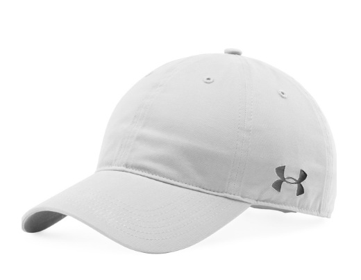 Under Armour Mens Chino Relaxed Team Cap White graphite b4b9fc86efd9