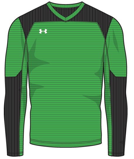 f66efd481 Add to My Lists. Under Armour Mens Threadborne Wall Goalkeeping Soccer  Jersey
