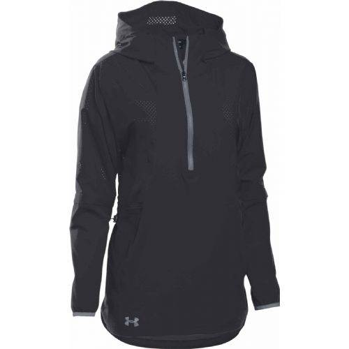 Under Armour Womens Squad Woven 14 Zip Volleyball Jacket 1305786