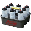 Adams 8 Water Bottles with Carrier