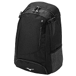 Mizuno Prospect Backpack Black Baseball Softball 360185