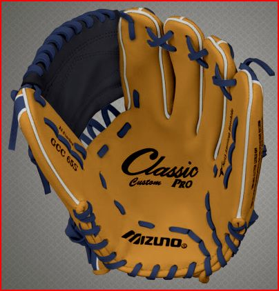more photos 53856 a33d8 Mizuno Custom Classic Pro Baseball Gloves