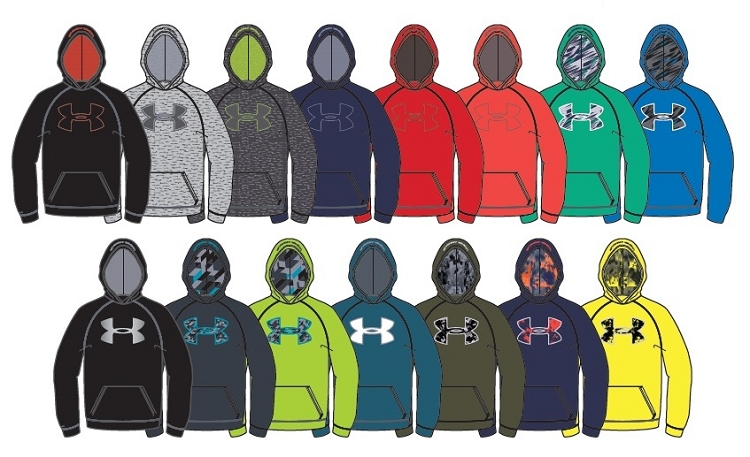 Add to My Lists. Under Armour Boys Storm Armour Fleece Big Logo Hoodie 24cf15d0fe4d