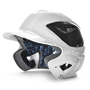 All Star System Seven White Two Tone Batting Helmet