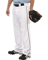 Teamwork Athletic Adult Pitchout Piped Open Bottom Baseball Pant
