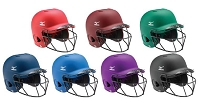 Mizuno MBH250 MVP G2 OSFM Solid Batters Helmet with Fastpitch FaceMask