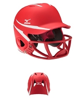 Mizuno MBH252 MVP Baseball Helmet With Polycarbonate Facemask