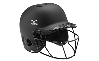Mizuno MBH601 Prospect Baseball Helmet With Facemask