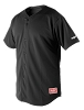 Rawlings Youth Short Sleeve Plated Baseball Jersey