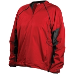 Rawlings Youth 1/4 Zip Removable Sleeves Youth Pullover